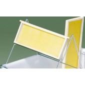 Едностранна стойка за разпечатване за вана, INOX